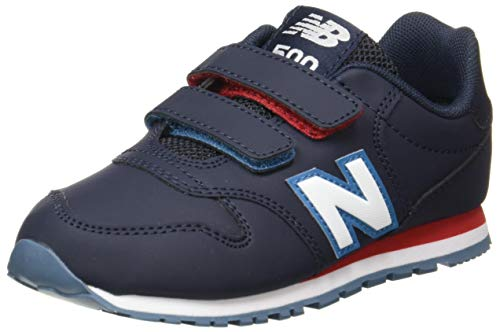 New Balance 500 YV500RNR Wide, Basket garçon, Blue (Outerspace RNR), 33