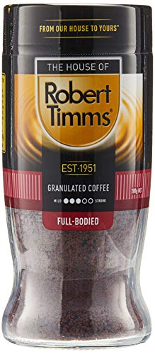 The House of Robert Timms Full Bodied Granulated Coffee Jar, 200 g