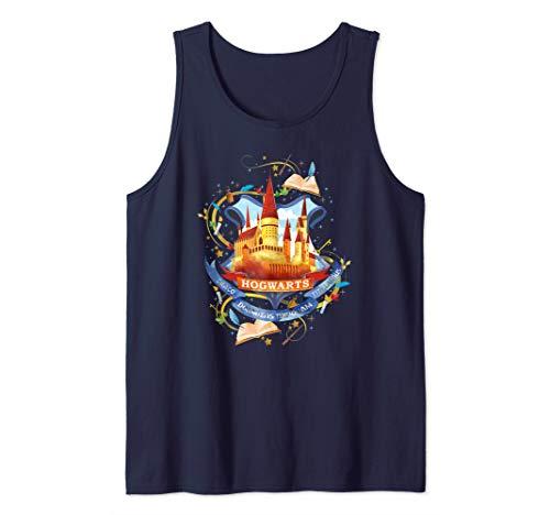Harry Potter Watercolor Hogwarts Crest Tank Top