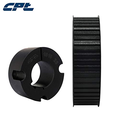 Max 67% OFF Fevas CPT H Profile Timing Pulley Pitch Steel Kansas City Mall Material 1 4 2