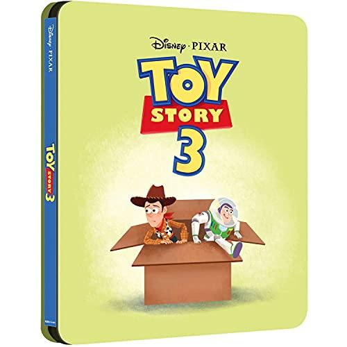 Toy Story 3 - La Grande Fuga 4k Ultra Hd + Blu-ray Steelbook Edizione Uk - BluRay
