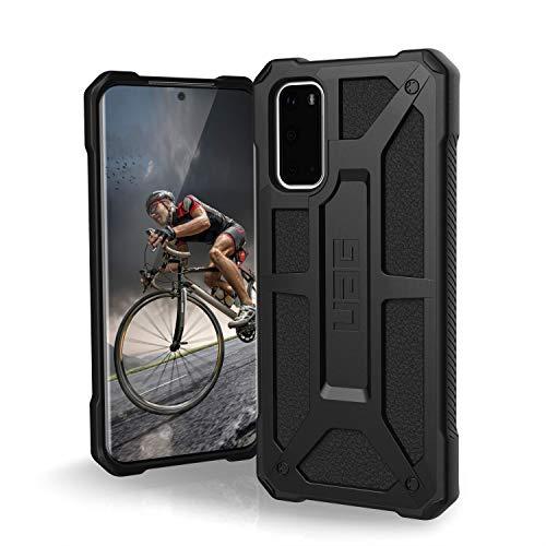 Urban Armor Gear Monarch Samsung Galaxy S20 (6.2 ) Cover Protettiva Rugged Custodia (Compatibile Con il Qi Wireless, Ultra Slim Protezione Case, Antiurto) - Nero