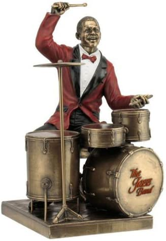 Drum Player Statue Sculpture Figurine Limited time cheap sale Jazz Collection Sales results No. 1 Band -