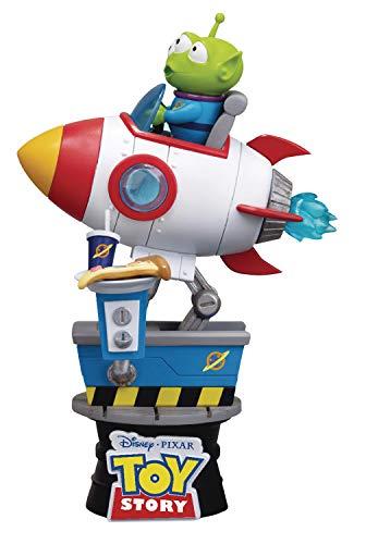Toy Story: Alienígena Coin Ride Ds-036 estátua série D-Stage multicolorido
