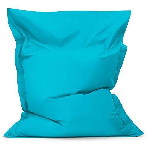 Bean Bag Bazaar Bazaar Bag - Turquesa Azul, 180cm x 140cm, Puf...