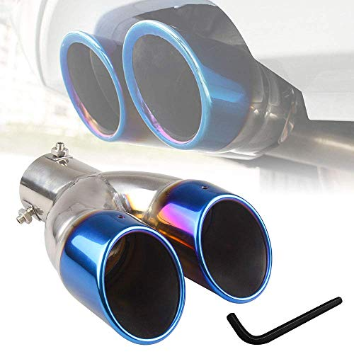 RYANSTAR Dual Exhaust Tip Exhaust Pipe Trim compatible with 1.5L-2.0L...