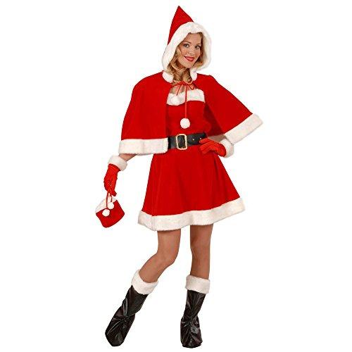 Widmann - NO2246 - Costume miss santa taille m boite vitrine