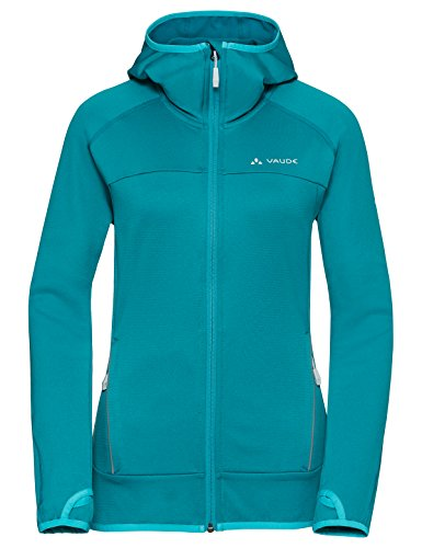 VAUDE dames Tekoa fleece jack jas, alpine lake, 42