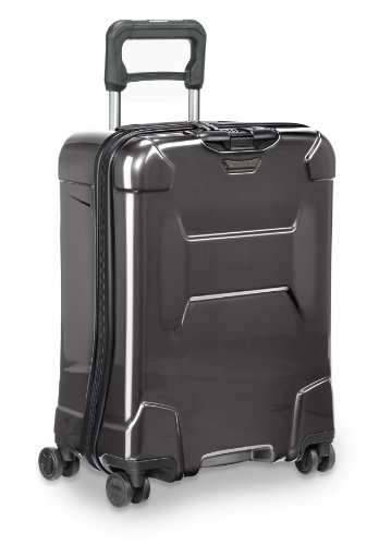 Briggs & Riley Torq-Hardside Wide-Body Carry-On Spinner Luggage, Graphite, 20-Inch