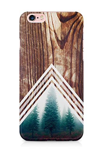 Wald Chevron Holz Print Hülle Handyhülle für Huawei P40 P30 P20 P10 P9 P8 Lite Mate 30 20 10 9 Pro Lite Y7 2019 Y6 Y5 2018 P Smart 2019 Z Case Cover