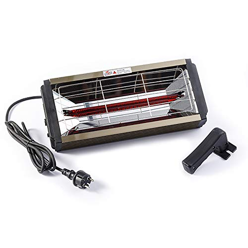 Grinning 1000W Autolacklampe Möbellacklampe Handlacklampe Mit 1-Stunden-Timerfunktion, Es Kann Auch Zum Heizen des Hauses Und Zum Entnebeln Von Autofenstern Vverwendet Werden