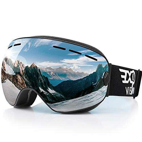 EXP VISION Snowboard Ski Goggles for Men, Women and Youth Snow Goggles (64% Off)