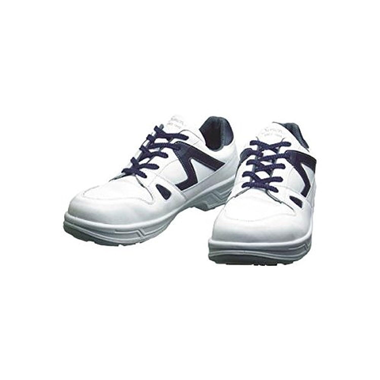 シモン/シモン 安全靴 短靴 8611白/ブルー 25.0cm(3514129) 8611WB-25.0 [その他] [その他]