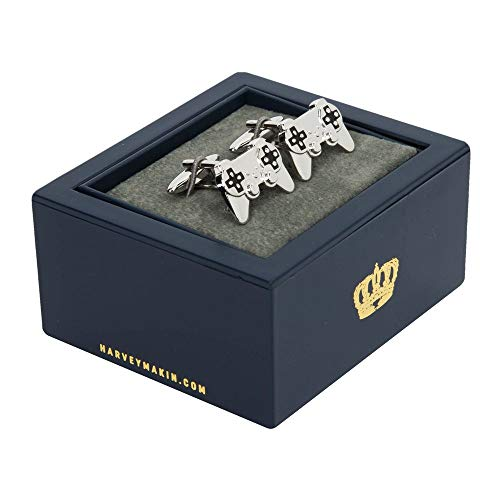 Mens Gift Designer Cufflinks - Playstation Controllers - Make An Ideal Gift by Gifts For Him/Her