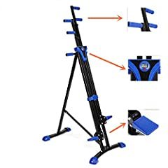 Full Body Workou :Perfect for a high intensity cardio session, or a slow burn muscle workout, designed for all body types: targets legs, shoulders, hips, glutes, and your body's core.[Color as shown in the figure] Guaranteed Quality:Adjustable height...
