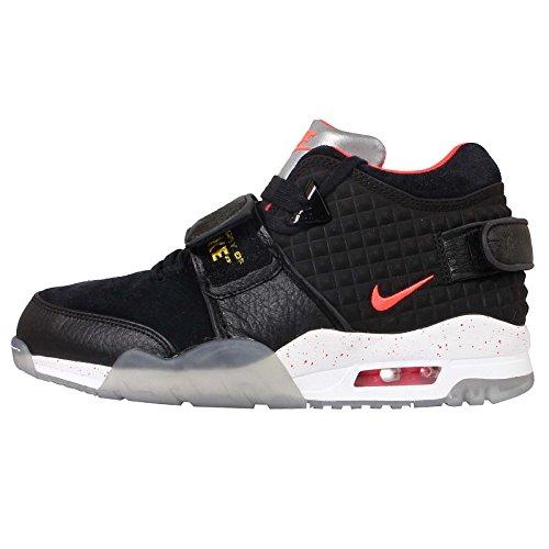 Nike Air Trainer V Cruz QS Mens Trainers 821955 Sneakers Shoes (US 8, Black Bright Crimson Tour Yellow White 001)