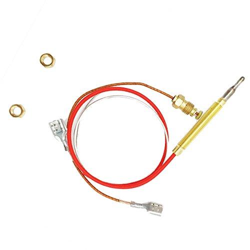 Außenheizung Ersatzteile M8 x 1 Endverbindungsmuttern Thermoelement 0,4 Meter Länge M6 x 0,75 Kopfgewinde inkl.