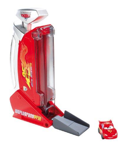 Mattel – Cars – Micro Drifter – Launcher – Lanceur + Mini Voiture (Import Royaume-Uni)