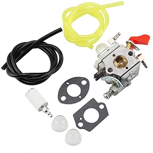 FECAMOS Carburador para cortacésped de Campo, carburador, carburador de Estudio de Metal Duradero para WT-668 para WAL-Bro WT-997 WT 664