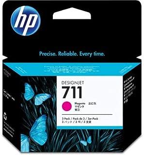 HP CZ135A Inkjet Cartridge (Magenta, 3-Pack) in Retail Packaging