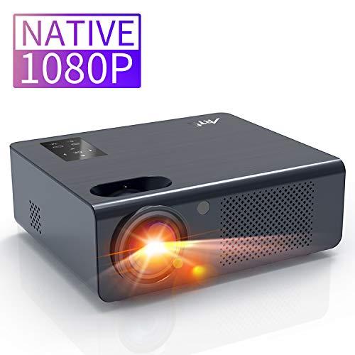 Proyector 6000 Lúmenes Full HD 1080P Nativo-Artlii EnergonPlus Proyector Cine en Casa, Soporta 4K / Dolby AC-3 / Zoom / Pantalla táctil