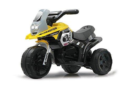 Jamara 460226 Ride-on E-Trike Racer Elektrofahrzeug, 6V Akku, gelb