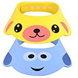 Per 2pcs Baby Kids Kinder Shampoo Baden Dusche Displayschutzfolie Gap Hat Wash Haar Shield ( A )