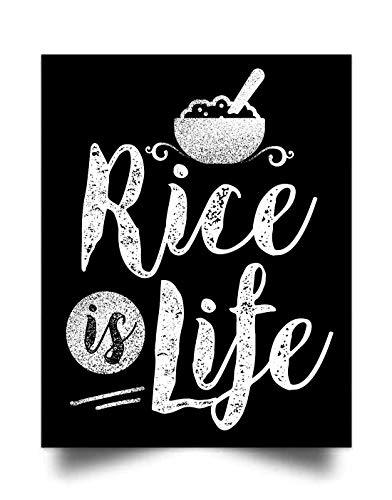 CHENHN Filipino - Rice is Life (17'x22') Wall Art Print Poster Home Decor