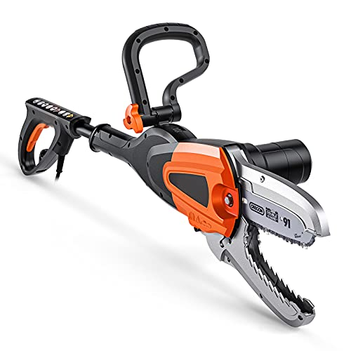 JawSaw PowerShare Corded Electric Chainsaw with Auto-Tension-TKJS01A