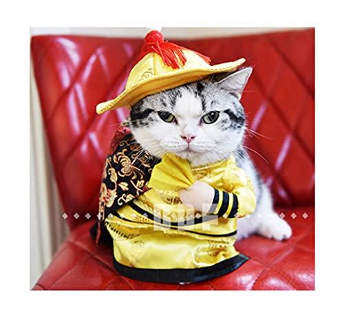 XEKE se Convierte en un Traje de Mascota erguido, un Disfraz de Halloween para Gatos y Perros, y un Traje de Gato o Perro para una Fiesta Divertida-E||L