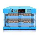 FHISD Incubatrice Automatica per Uova 128 incubatrice Digitale per Uova da cova pollame Pollo Anatra Colomba Oca Uccelli Temperatura umidità Controllo