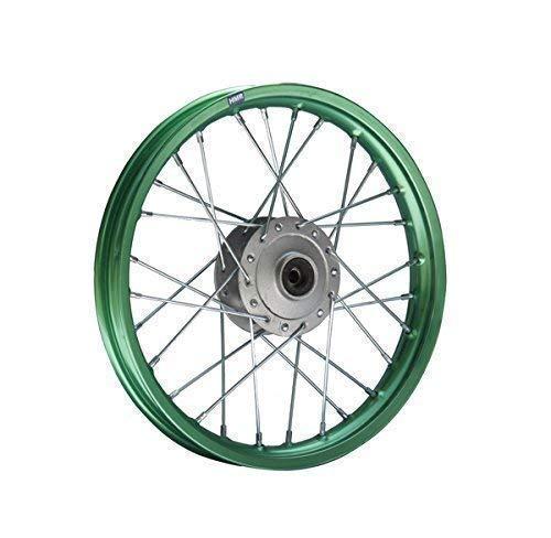 HMParts Pit/Dirt Bike/Cruzar - Llantas De Aluminio Anodizado 14 Delantero Tamaño