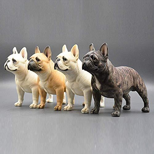 Französische Bulldoggenskulptur  Handgemacht Und Bemalt  Haustier Porträt Hundestatue Figur Denkmal  Französische Bulldogge Sammlerstücke  Französische Bulldogge Kunst / 7.87X6.7X3.54Inches Ornam