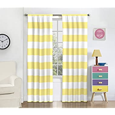 Eclipse Peabody Panel, 42x84, Yellow