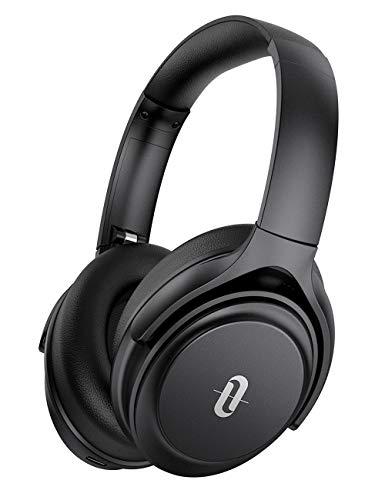 ヘッドホン Bluetooth TaoTronics ANC ワイヤレス ノイズキャンセリング Type-C 急速充電対応 密閉型 CVC8.0 31時間連続再生 有線対応 マイク付き Soundsurge 85