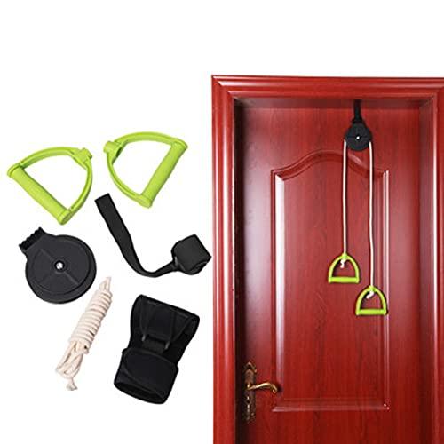 N / B Polea del Hombro, sobre Las puliblesas de la Puerta para la Terapia física del hogar, la polea del Hombro múltiple Deluxe para Ayudar a la rehabilitación y la Mayor flexibilidad