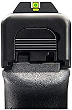 Ameriglo Cap ProGlo Green Outline/Green Cap Rear Set For Glock 17/22