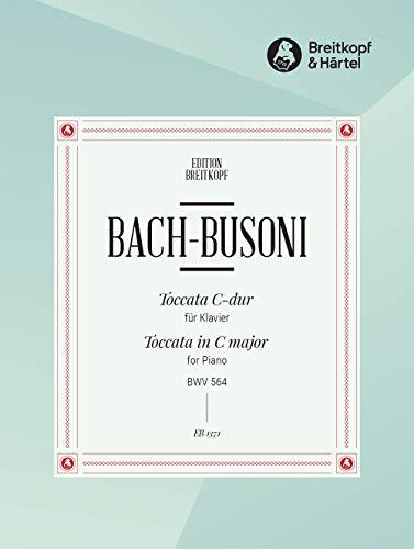Toccata C-dur BWV 564 für Laute - Bearbeitung für Klavier (EB 1371)