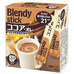 AGF ブレンディ スティック ココア・オレ 16g×21本×6箱入×(2ケース)