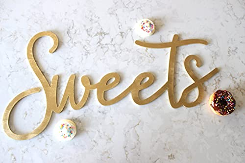 by Unbranded Sweets segno // legno Wedding Decor // Wedding Signs // Wedding Decor // Wedding Signage // Wedding Signage // Dessert Sign // Dessert tavolo segno