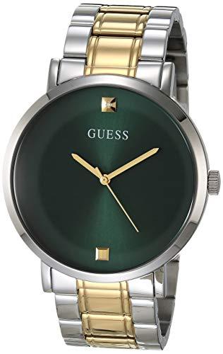 Reloj analógico para Hombre con Correa de Acero Inoxidable, Plateado, 24 (Modelo: GW0010G2)