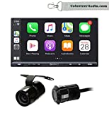 Sony XAV-AX5000 6.95' Double Din Touchscreen Digital Media Player with Apple CarPlay, Android Auto, SiriusXM Ready, Free Reverse Backup Camera