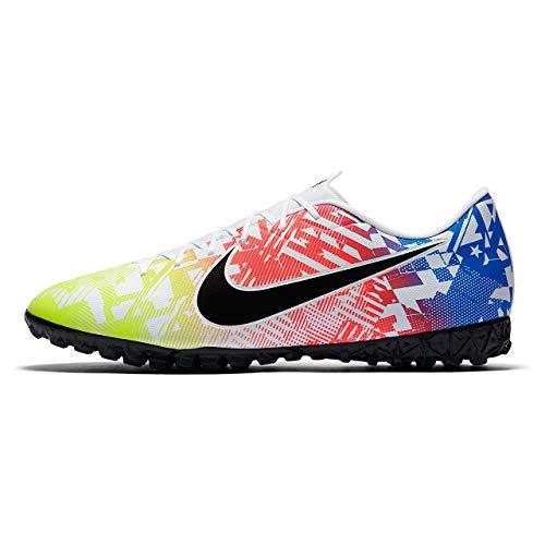 Nike AT7995-104, Sneaker Unisex-Adulto, Bianco/Nero/Racer Blue/Volt, 44.5 EU