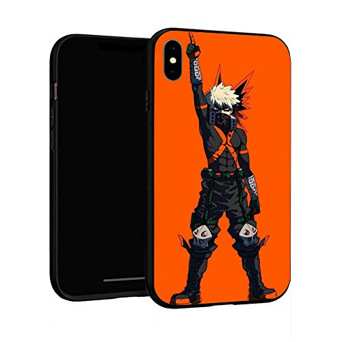 N / A iPhone XR Case, Comics Case Cover for iPhone XR (My Hero Academia (15))