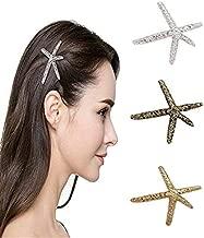 LD DRESS Natural Starfish Hairpin Hair Perfect gift for girls