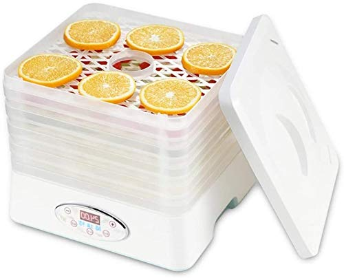 5 Tablett Premium Electric Food Dehydrator Machine-200W bis 250W- Digitaler Timer & Temperaturregler mit automatischer Abschaltung, zum Trocknen von Trockenfleisch vom Rind Gemüse und Nüsse BPA-