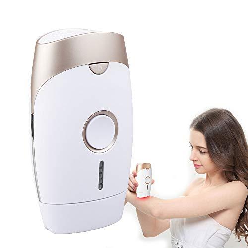 CWWHY Dauerhafte Haarentfernung, IPL-Haarentfernungssystem, Gerät zur Entfernung von Gesichts- und Körperhaaren Schmerzloser dauerhafter Haarentferner