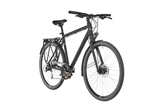 Ortler Saragossa Black matt Rahmenhöhe 52cm 2020 Trekkingrad