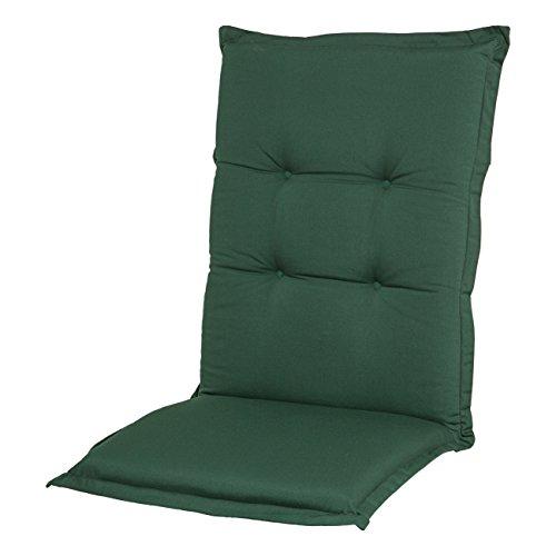 Adlatus-Kühnemuth - Gartenstuhlauflage - Polsterauflage - Sitzauflage - Classic Dessin 107, Farbe: grün (Hochlehner Auflage 120 x 50 cm)