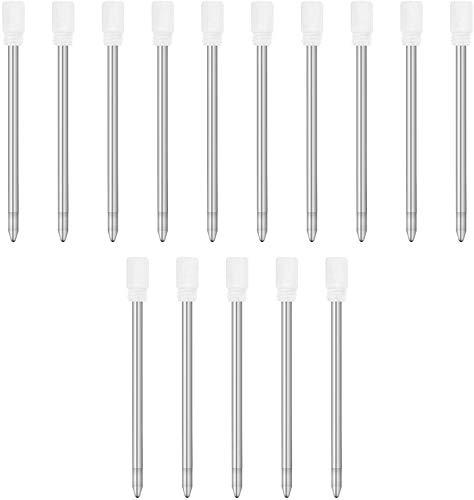 TSML Ballpoint Metal D1 Refill for Multifunction Pen, Medium Point Black(5 pack) / Blue(5 pack) /Red(5 pack) Ink Refill for Pocket Pen - Total of 15 pack (15 pack)